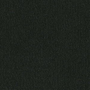 Vista is available in 6 foot wide rolls of Jet Black